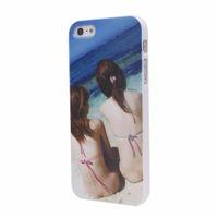 Чехол-накладка на Apple iPhone 5/5S, пластик, girls 2