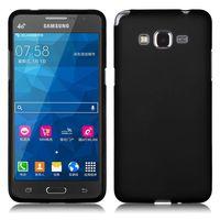 Чехол-накладка на Samsung Grand Prime (G530) силикон, матовый, черный