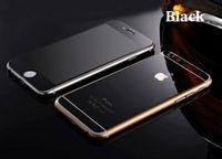 Цветное защитное стекло для Apple iPhone 6/6S комплект, черный