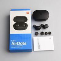 Наушники с микрофоном, Xiaomi Redmi AirDots, Bluetooth, микрофон, черный
