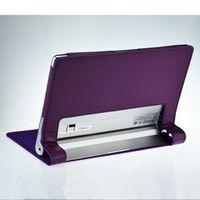 """Чехол Smart-case для Lenovo Yoga Tablet 10"""" (B8000)  кожа, фиолетовый"""