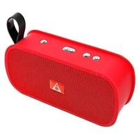 Портативная колонка, Noname, M168, Bluetooth, USB, FM, AUX, TF, красный