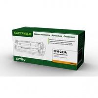 Картридж лазерный Perfeo CF283A для HP LJ Pro M125rnw/M127fn/M127fw/M201/M225 (1500 стр.)