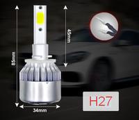 Лампы LED, головного освещения, С6, H27, 36W, 5000K, 2 шт