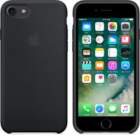 Чехол-накладка на Apple iPhone 6/6S, силикон, original design, микрофибра, без лого, черный