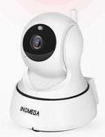IP-камера INQMEGA IL-HIP329-2M-AI, 1080p, Wi-Fi, LAN, microSD, вращение 360 гр, ночной режим, белый