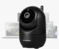 IP-камера INQMEGA IL-HIP291-1M/2M, 1080p, Wi-Fi, microSD, вращение 360 гр, ночной режим, черный