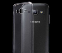 Чехол-накладка на Samsung J5 (J500) (2015) силикон, ультратонкий, прозрачный