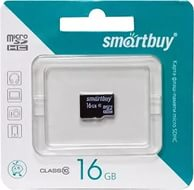 Карта памяти MicroSDHC 16GB Smart Buy, Class 10 (без SD адаптера)