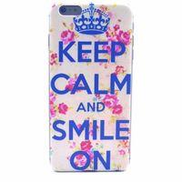 Чехол-накладка на Apple iPhone 6/6S Plus, пластик, Keep calm
