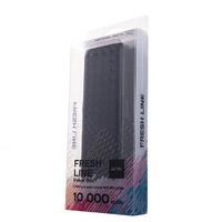Портативный аккумулятор PowerBank 10000mAh, Activ Fresh Line A151-02, 1xUSB, фонарь, черный