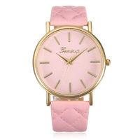 Часы наручные Geneva, ц.розовый, р.розовый, кожа
