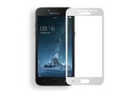 Защитное стекло Samsung Galaxy J2 (2018) на дисплей, с рамкой, белый