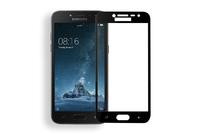 Защитное стекло Samsung Galaxy J2 (2018) на дисплей, с рамкой, черный