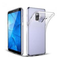 Чехол-накладка на Samsung J6 (J600) (2018) силикон, ультратонкий, прозрачный