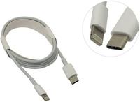 Кабель для iPhone Type-C to 8pin, Smartbuy iK-512FC, 2.4A, PD fast charging, 1м., белый