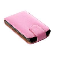 Чехол-книжка на LG Optimus L4II e440 кожа, розовый