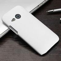 Чехол-накладка на HTC One M8 пластик, белый