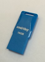 Память USB 2.0 Flash, 16GB, Smart Buy Funky series Blue