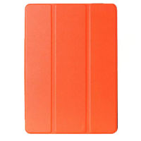 Чехол Front-case для Apple iPad 2/3/4, полиуретан, магнитный, оранжевый