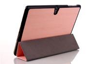 Чехол Smart-cover для Samsung Galaxy Tab S 10.5, полиуретан, розовый