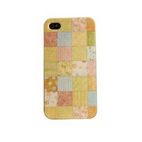 Чехол-накладка на Apple iPhone 4/4S, пластик, Square-3