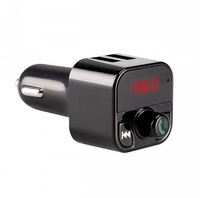 FM-модулятор, TDS TS-CAF06, Bluetooth, 2xUSB/microSD