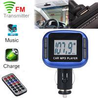 FM-модулятор, Noname, SD, USB, 4кн, пульт
