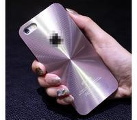 Чехол-накладка на Apple iPhone 4/4S, пластик, алюминий, CD, розовый