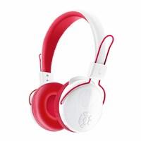 Наушники с микрофоном, VYKON V8-2, Bluetooth, стерео, microSD, 5кн, микрофон, бело-красные
