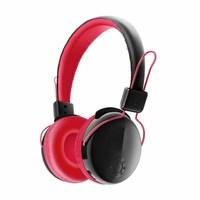 Наушники с микрофоном, VYKON V8-2, Bluetooth, стерео, microSD, 5кн, микрофон, черно-красные
