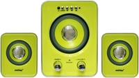 Активные колонки 2.1, Smart Buy BUZZ (SBA-2610), 3W+2x1W, USB, microSD, черный, желтый