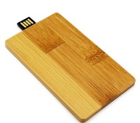 Память USB 2.0 Flash, 32GB, BiNFUL, дерево, wood №10 card, carbonized bamboo