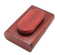 Память USB 2.0 Flash, 32GB, BiNFUL, дерево, wood №2 с боксом, rose wood