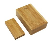 Память USB 2.0 Flash, 32GB, BiNFUL, дерево, wood №12 с боксом, carbonized bamboo