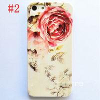 Чехол-накладка на Apple iPhone 6/6S, пластик, flowers 2