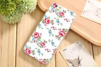 Чехол-накладка на Apple iPhone 6/6S, силикон, flowers 5