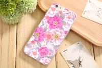 Чехол-накладка на Apple iPhone 6/6S, силикон, flowers 7