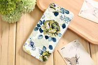 Чехол-накладка на Apple iPhone 5/5S, силикон, flowers 8