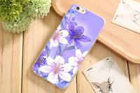 Чехол-накладка на Apple iPhone 7/8/SE2, силикон, flowers 10