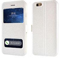 Чехол-книжка на Apple iPhone 6/6S, полиуретан, SView, магн, белый