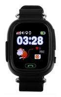 Смарт-часы Q90, детские, Sim, LCD, GPRS, Wi-Fi, GPS, черный