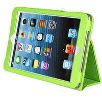 Чехол Smart-case для Apple iPad mini 1,2,3, кожа, зеленый