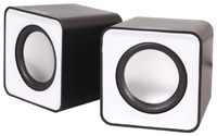 Активные колонки 2.0, Smart Buy MINI (SBA-2810), 2x2W, серый