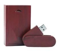Память USB 2.0 Flash, 32GB, BiNFUL, дерево, wood №14 с боксом, rose wood