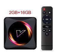 Медиаплеер Vontar Z5, Android 10, RK3318, 2/16GB, SD, 2xUSB, HDMI, Wi-Fi AC, BT, LAN, AV, черный