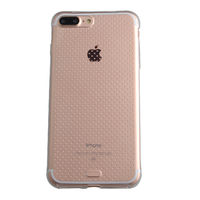 Чехол-накладка на Apple iPhone 7/8 Plus, силикон, пупырчатый, прозрачный