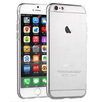 Чехол-накладка на Apple iPhone 6/6S Plus, силикон, матовый, прозрачный