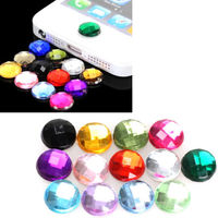 Наклейки на кнопки Diamond для iPhone 4,5