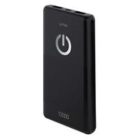 Портативный аккумулятор 10000mAh, Perfeo Splash PF-4296, 2xUSB, черный